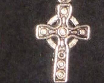 Celtic Cross and Hematite Shepherd's Hook Bookmark