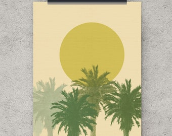 Palm Tree Art, Nature Prints, Digital Download, Tropical Art Print, Palm  Tree Part 43
