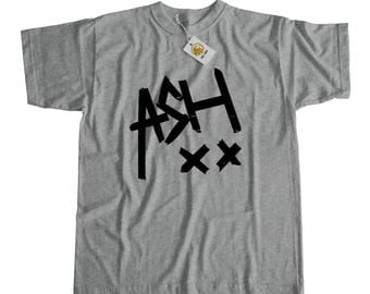 Ash Xx Shirt Grey Or White Unisex | Ashton Irwin Fan Tshirt Ashton Irwin Top Ashton T-shirt Ash Tshirt Gift For 5sos fan 5sos shirt 5sos top