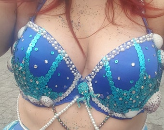 Decorated bra's