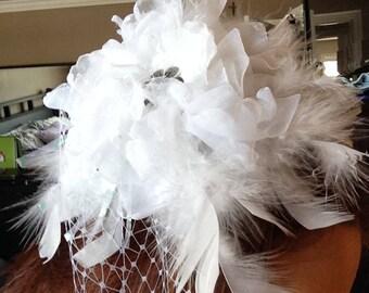 Floral hair accessorie