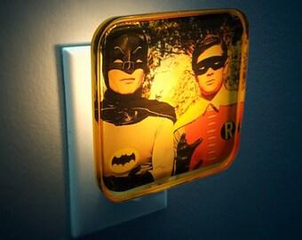 Batman and Robin Night Light