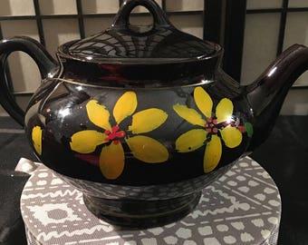 Vintage Brown Teapot Royal Canadian Art Pottery