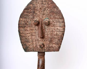 AUTHENTIC KOTA RELIQUARY (Mahongwe Bwete) Gabon, African tribal ritual object, vintage collectible, interior collectible, antique statue