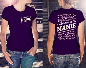 Officiel T-Shirt C'est Un Truc DE MAMIE