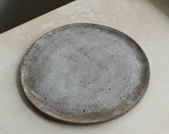 Ceramic Dinner Plate - Lunar