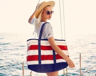 Boyd's Shore Bag - Custom Tote Bag, Beach Bag, Sail Cloth