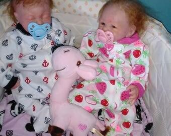 Preemie reborn twins