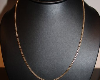 9ct Yellow Gold Close Curb Chain