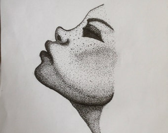 First pointillist drawing