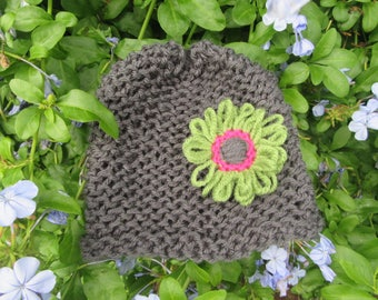 Girl's Flower Hat