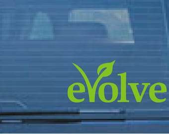 Vegan/vegetarian sticker/decal, 9.3cm x 22cm, car, window, wall, tablet, will stick to most surfaces.