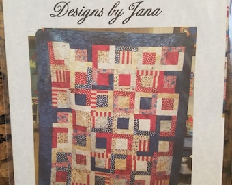 Four Slice Layer Cake Quilt pattern