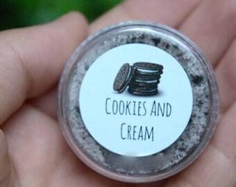 Cookies & Cream Lipscrub