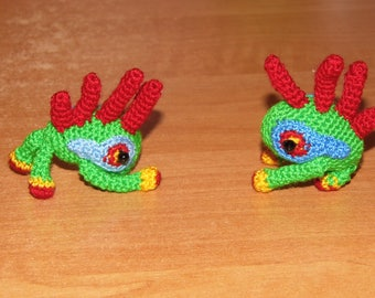 Tiny Crochet Murloc