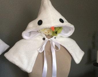 Snowman Capelet for children