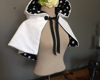 Snowman Capelet for adults