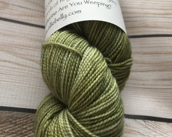"Elliebelly MCN High Twist Sock Yarn ""Catherine, Are You Weeping?"""