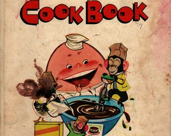 Young Children's Mix and Fix Cook Book - 1975 - Vintage Kids Book