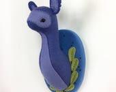 LAST CHANCE SALE: Purple Spirit - soft sculpture studio monster