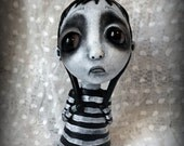 Loopy Southern Gothic Art Doll Lowbrow Dark Goth Pippin