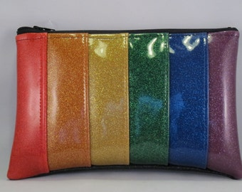 Rainbow Fanny Pack Gay Pride Roller Derby