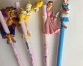 Vintage Disney Beauty and the Beast Pencils