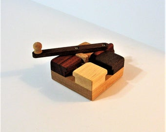 Genuine Do - Nothing Fidget Toy Made Of Four Woods