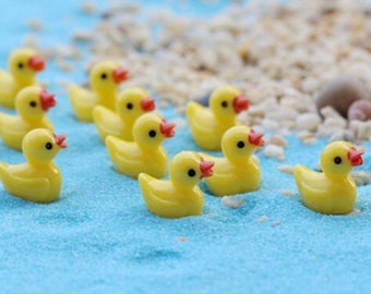 Resin rubber duckie