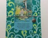 CLEARANCE SALE** Mermaid Under the Sea Serenade  Standard Wide Fabric Fauxdori