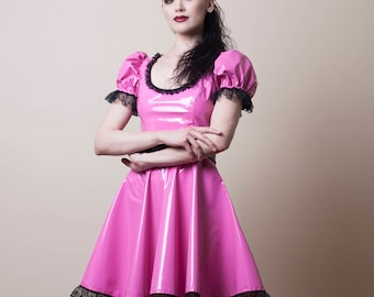 PVC Babydoll Dress-Made to Measure (Your Size)