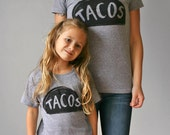 Mommy and me shirts -  mother daughter t shirt - taco twosday - matching Taco tshirts - wife gift for mom - for women