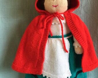 PDF Knitting Pattern - Miss Crolly, an Irish Dolly