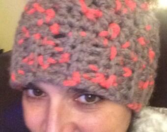 Messy Bun Ponytail Hat - Variegateds