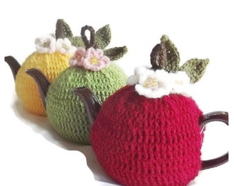 Pattern, Crochet Tea Cozy Pattern, 2 Cup Tea Cozy Pattern, Crochet Tea Cozy, PDF