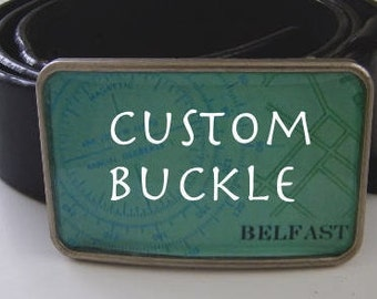 Custom Buckle- gift boxed