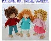 Dollhouse Doll Making Tutorial PDF - Instant Download