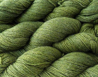 The Fibre Company Canopy Fingering - Confier - Green Forest Hunter Light Fingering Weight Kettle Dyed Alpaca Merino Bamboo Yarn
