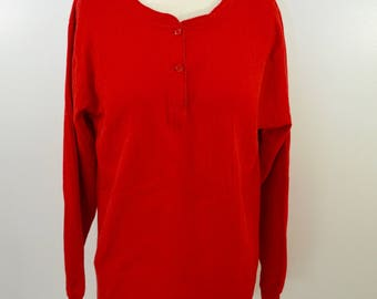 Vintage L.L. BEAN River Driver's Shirt Ladies sz. Large made in USA