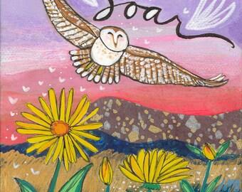 Greeting Card : Soar