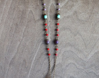Long Napalese Tusk Necklace