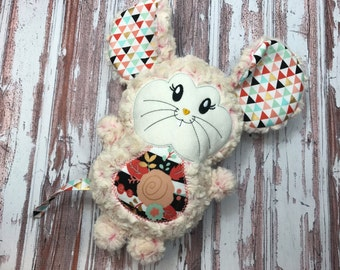 Mouse Softie / Personalized Mouse / Moush Plush / Stuffed Mouse / Stuffed Animal / Baby Shower Gift / Baby Toy / Plush Toy