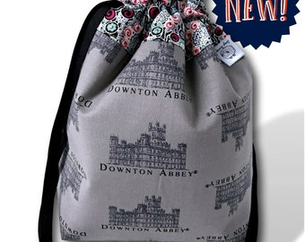 At the Abbey - NEW! One Skein Project Bag for Knitting, Crochet, or Cross Stitch