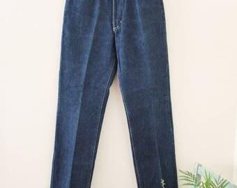 80's Dark Wash Lee Jeans
