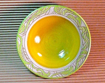 STONEWARE BOWL , SERVING Bowl, Vegetable Bowl, ,  free pendant with each order