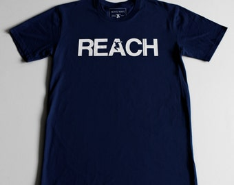 The REACH / ESCAPE Parkour T-Shirt - Navy