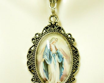 Miraculous medal necklace - AP04-409