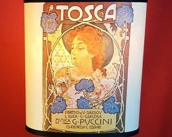 Lampshade Tosca Opera Puccini