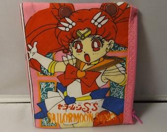 Sailor Moon  Anime'  Fabric Coin Purse--Handmade Japanese Fabric