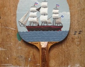 Original painted bat: The Clipper Ship III